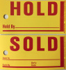 Jumbo Hold/Sold Tags * HST-850